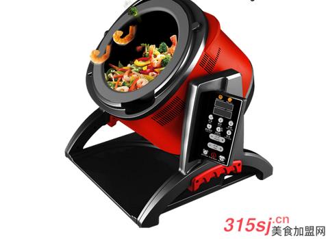 炒菜机器人快餐