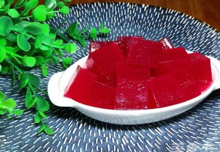 火龙果凉糕