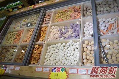 自嗨火锅食材超市加盟